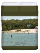 Paddle Board Duvet Cover