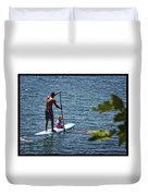 Paddle Board Duvet Cover