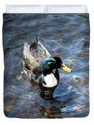 Paddling Peacefully Duvet Cover