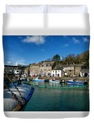 Padstow Harbour  Duvet Cover