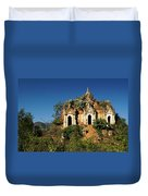 Pagoda In Ruins Duvet Cover