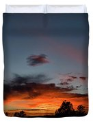 Pagosa Sunset 11-30-2014 Duvet Cover