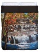Paine Falls Duvet Cover