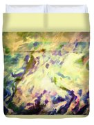 Paint And Clouds IIi Duvet Cover
