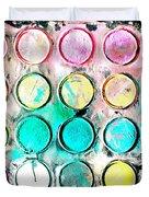 Paint Colors Duvet Cover