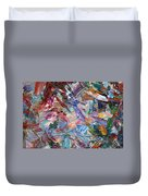 Paint Number 42-b Duvet Cover by James W Johnson