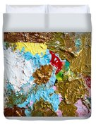 Paint Palette 2 Duvet Cover