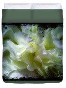 Paint Splattered Frame Duvet Cover