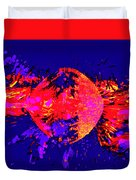 Paintball Splat Duvet Cover