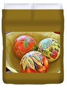 Painted Balls Duvet Cover