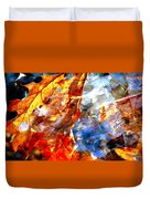 Painted Branches Abstract 1 Duvet Cover