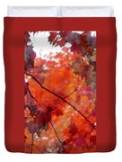 Painted Branches Abstract 5 Duvet Cover