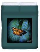 Painted Butterfly Duvet Cover