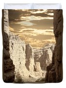 Painted Canyon Trail Duvet Cover