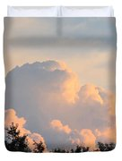 Painted Clouds Duvet Cover