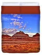 Painted Desert Colorful Mounds 003 Duvet Cover