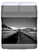 Painted Desert Road #2 Duvet Cover