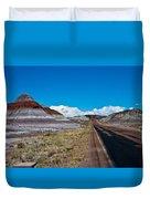 Painted Desert Road #3 Duvet Cover