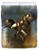 Painted Eagle Duvet Cover