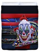 Painted Face Duvet Cover