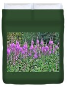 Painted Fireweed Duvet Cover