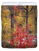 Painted Forest Duvet Cover