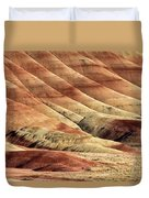 Painted Hills Textures Duvet Cover