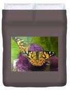 Painted Lady Butterflies Duvet Cover