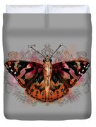 Painted Lady II Duvet Cover