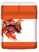 Painted Leaf Series 1 Duvet Cover