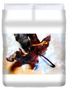 Painted Leaf Series 2 Duvet Cover