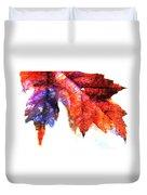 Painted Leaf Series 4 Duvet Cover