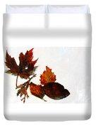 Painted Leaf Series 5 Duvet Cover