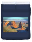 Painted Mesa Duvet Cover