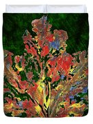 Painted Nature 1 Duvet Cover by Sami Tiainen