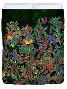 Painted Nature 2 Duvet Cover by Sami Tiainen