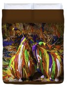 Painted Pears Duvet Cover