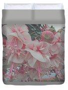 Painted Pink Fushia Duvet Cover