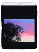 Painted Pink Sky Duvet Cover