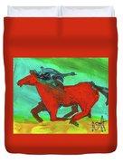 Painted Ponies - Spirit Rider Duvet Cover