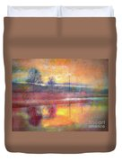 Painted Reflections Duvet Cover