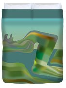 Painted Riverland Duvet Cover