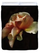 Painted Roses Duvet Cover