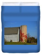 Painted Silo Duvet Cover