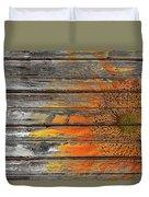Painted Sunflower Duvet Cover