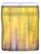 Painted Trees IIi Duvet Cover