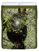 Painted Turtle Camouflague Duvet Cover