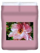Painted Velvet Petals Duvet Cover