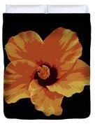 Painter Hibiscus Duvet Cover