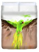 Painting 661 1 Bird 8 Duvet Cover